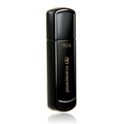 Накопитель Flash drive USB  16 Gb Transcend 2.0 350 (TS16GJF350) черный